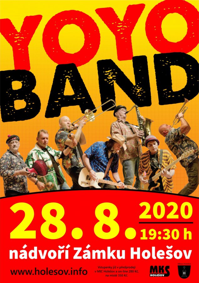 YOYO BAND v Holešově